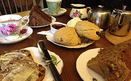 Welsh traditional afternoon tea